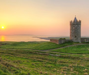 Doonagore castle near Doolin - Co. Clare - Ireland